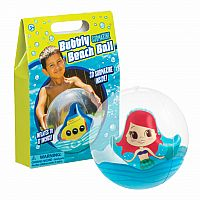 Bubbly Beach Ball, specify choice boy or girl
