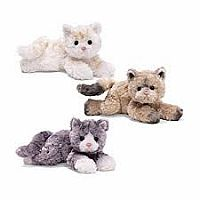 Gund Bootsie Plush Cat (Assorted colors)