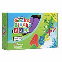 Cassidy Labs Gecko Blocks ABC Letters 26 Piece