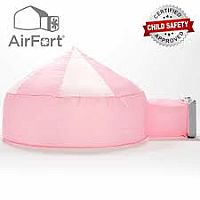 AirFort Pink and White Fort