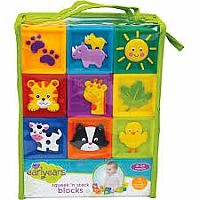 Kidoozie Squeak 'n Stack Blocks