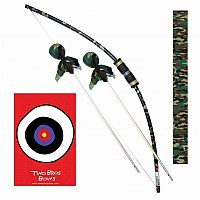Two Bros Bow Archery Set (assorted colors)