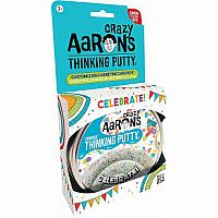 CA Thinking Putty Celebrate Sparkle 3.2 oz Tin