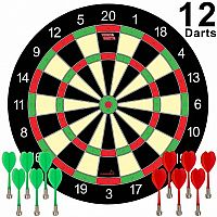 Magnetic Dart Board now with 12 darts