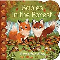 Cottage Door Babies In the Forest