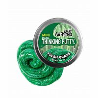 CA Thinking Putty Fresh Grass Sparkle Mini Tin