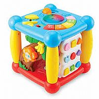 Epoch Kidoozie Lights 'n Sounds Activity Cube