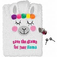 Llama Plush Journal save the drama for your llama