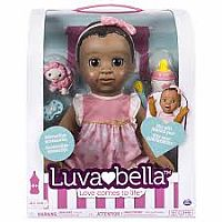Luvabella doll ethnic brown hair