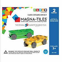 Magna Tiles Cars Expansion Kit