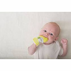 Munch Mitt Baby Teething Mitten yellow