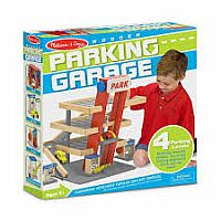 Melissa and doug parking garrge