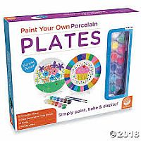 Paint your own Porcelain Plates