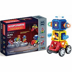 Magformers Power Sound 59pc Set