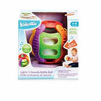 Kidoozie Lights 'n Sounds Rattle Ball