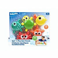 Epoch Kidoozie Spin 'n Play Sea Friends