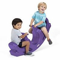Simplay3 Rock and Roll Teeter Purple Totter