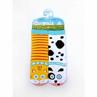 Pals Socks Size 4-8 Years Cat & Dog